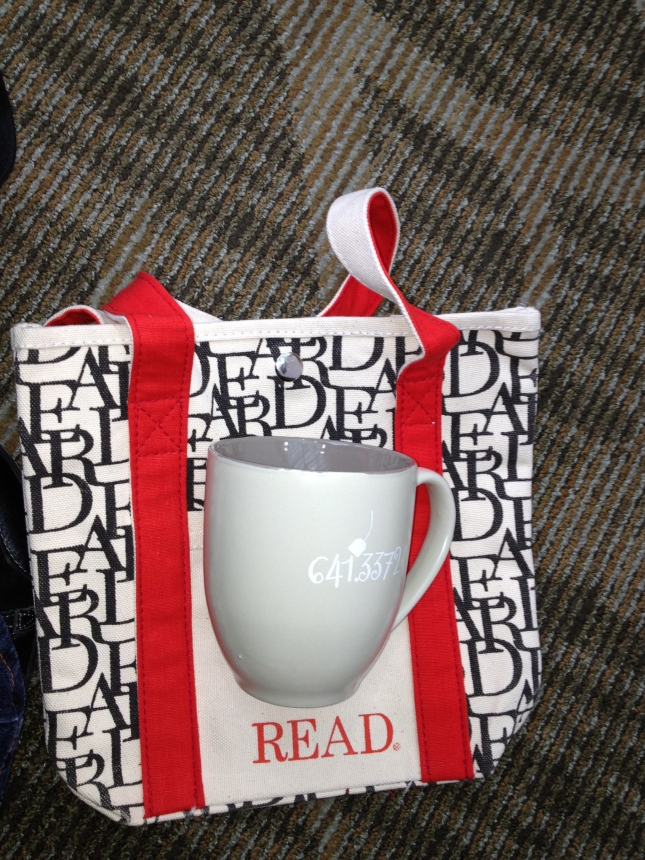 ALA tote and mug