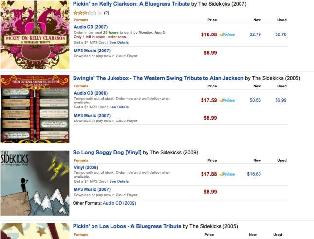 Amazon.com The Sidekicks search results
